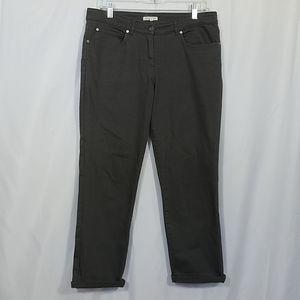 Eileen Fisher Boyfriend Organic Cotton Jean's M